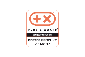 PLUS X AWARD 2017 Logo -